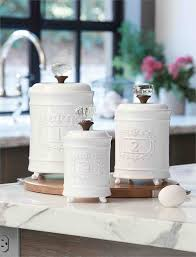 kitchen canisters ceramic sets mud pie circa canister set at low pricing