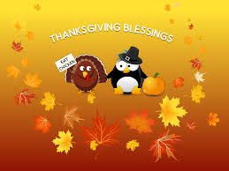 cartoon thanksgiving wallpaper artwork lubuntu