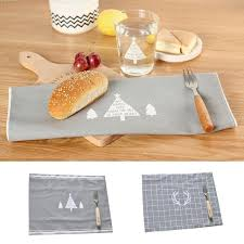 napperon de cuisine napperons de noël tissu napperon tapis de bar 38 29 5 cm plaque