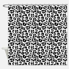 Leopard Curtains Animal Print Shower Curtains Animal Print Fabric Shower Curtain