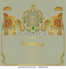indian wedding card templates indian wedding card background free vector stock