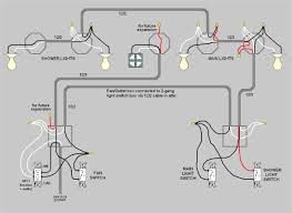 lighting wiring a light fixture in bathroom attached switch