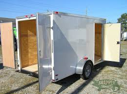 Exterior Doors B Q by Ft Pierce Special 6x12 Sa Trailer White Double Doors Side