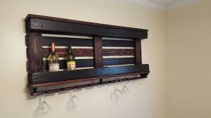 wine rack with one pallet repurposed wood 1001 pallets