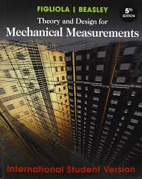 theory and design for mechanical measurements amazon co uk