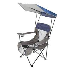 Lawn Chair With Umbrella Attached Kelsyus Premium Canopy Chair Walmart Com