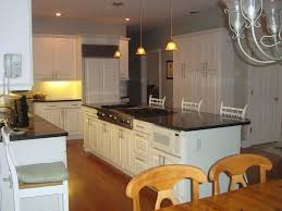 kitchen island with stove give your kitchen cabinets a custom