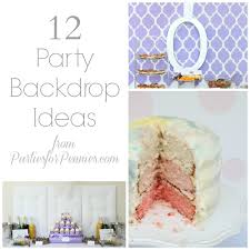 Photo Backdrops For Parties 12 Party Backdrop Ideas Parties For Pennies
