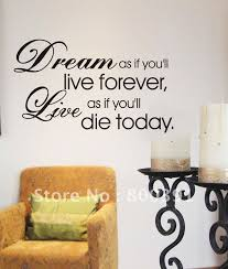 Wall Quotes For Bedroom by 27 Best Wall Art Images On Pinterest Wall Decal Quotes Wall