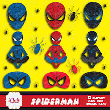 spiderman clipart spiderman mask pencil color spiderman