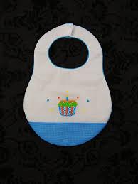 birthday bib rosalina birthday bib with cupcakes by rosalina cloud nine gifts