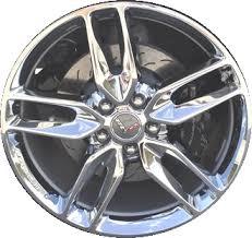 chrome corvette wheels aly5634 chevrolet corvette wheel chrome 20986479