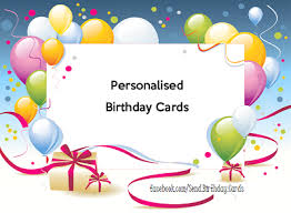 birthday cards personalised birthday cards home