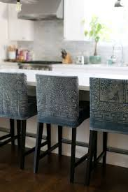 French Kitchen Island Marble Top Modern Kitchen Counter Stools Creative White Wooden Bar Stool