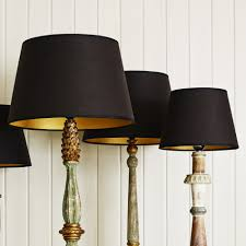 the wide ranges of the options of the stylish black lamp shades