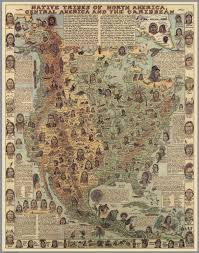 Central America And The Caribbean Map by Native Tribes Of North America Central America And The Caribbean