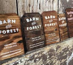 Print On Business Cards Gorgeous Rustic Business Cards Printed On Antique Reclaimed Barn