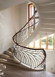 Helical Staircase Design Brambledown Helical Staircase Arts U0026 Crafts Staircase