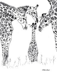 my name is penny redshaw and i draw motivating giraffes for a