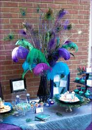 peacock bridal shower ideas peacock feathers bridal