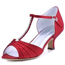 Wedding Shoes Amazon Red Wedding Shoes For Bride Amazon Com