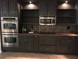 kitchen maid cabinet colors painted cabinets sw urban bronze rcs remodel pinterest
