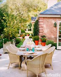 House Beautiful Dining Rooms by Designer Outdoor Dining Rooms Outdoor Dining Ideas