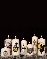 halloween flameless candles 20 ways to decorate your table for a halloween dinner party