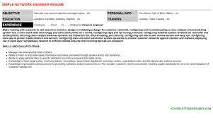 network engineer cover letter u0026 resume