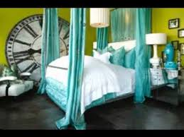 turquoise bedroom decor brown and turquoise bedroom decorating ideas youtube