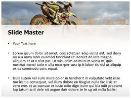 free dirt bike sports powerpoint template freetemplatestheme com