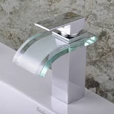 Bathroom Waterfall Faucet by Best Bathroom Sink Faucets Chrome Finish Airplane Shape Single