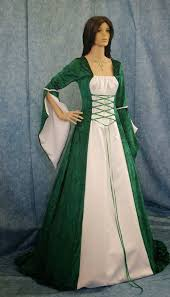 celtic wedding dresses green white celtic wedding dresses sleeves design