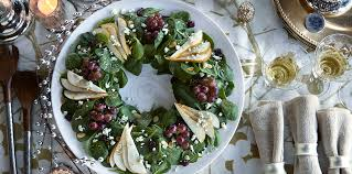 Holiday Wreath Holiday Salad Wreath Dole Com