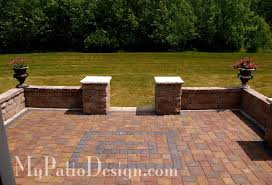 Brick Patio Design Ideas Phenomenal Brick Patio Design Macomb Patio Walls Home Design Ideas