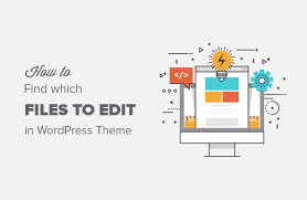 how to find which files to edit in wordpress theme