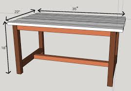 Free Diy Table Plans by Easy 15 Diy Outdoor Coffee Table Free Plans Anika U0027s Diy Life