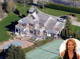 celebrities homes katie couric from celebrity homes in the htons katie couric