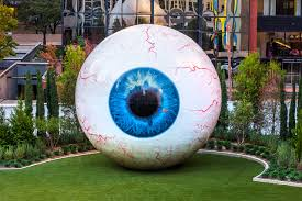 Flag Store Dallas Tony Tasset U0027s Latest Sculpture Is A 30 Foot Eye For The Joule