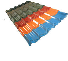 Metal Roof Tiles Steel Roof Sheet Metal Roof Tile From Qingdao Krs Roof Co