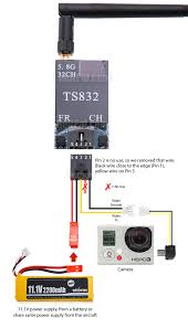 wiring my fpv to av connectors dronevibes drones uav u0027s