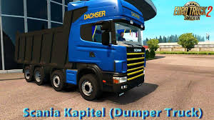 minecraft dump truck scania kapitel dumper truck v1 0 1 27 x truck mod ets2 ets2 mod