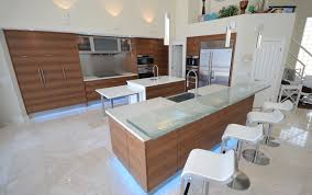 glass countertops for kitchen and bath by downing designs