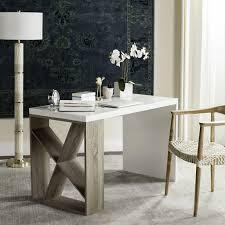 modern desk with storage fox4235a desks furniture by safavieh