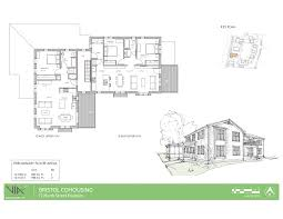 cohousing floor plans house plans bristol village cohousing