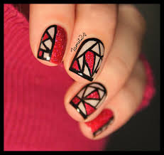 stained glass nails nail art pinterest glass nail salons