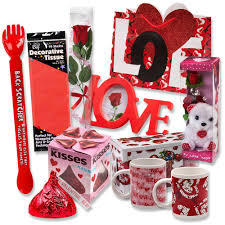 amazon com valentine gift set complete with gift bag tissue