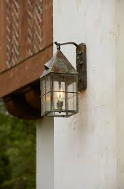 Tudor Style Wall Mount Light Provides Exterior Lighting Tudor