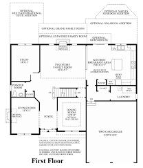 lenah mill the carolinas the ellsworth ii home design 1st floor floor plan