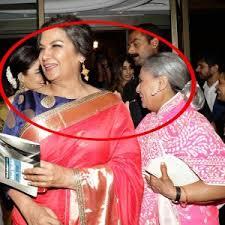 Jaya Bachchan Hot Pics - jaya bachchan spotted giving flying kiss to rekha during ht most
